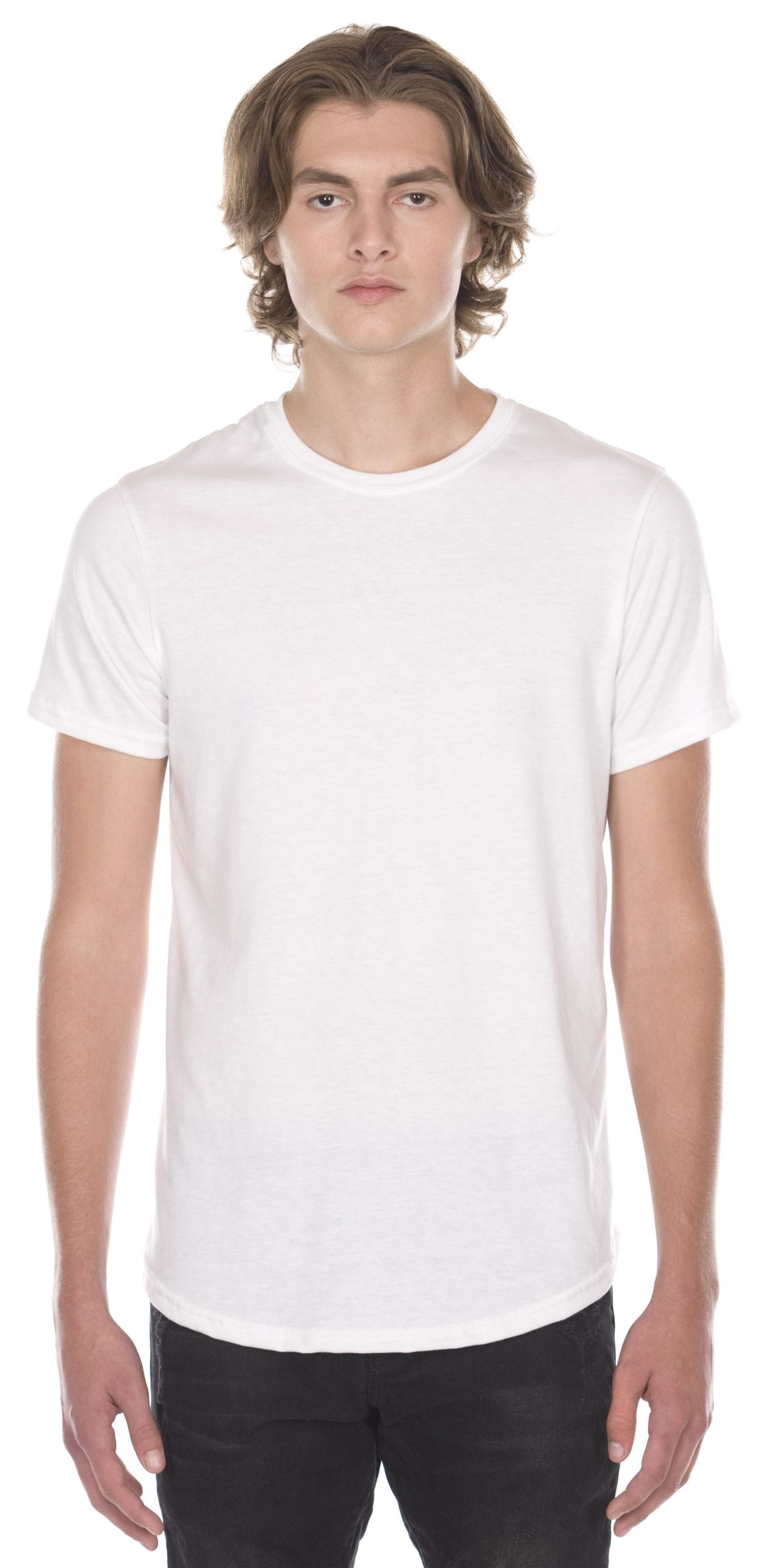 Jerico made in canada scoop bottom tee floodway for Custom t shirts canada no minimum
