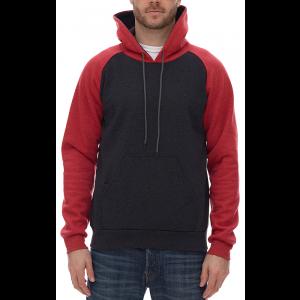 268a8630d8ff King Athletics - Raglan Hooded Sweatshirt